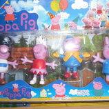 Подарочный набор друзей Пеппы 4 штуки