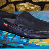 кожаные туфли prada 42 размер