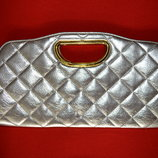 Золотистая сумочка-клатч от E-VIE