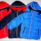 Зимние куртки для мальчиков Венгрия 98-128 см