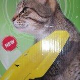 Расческа ионная очищающая для животных