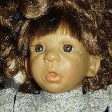 коллекционная характерная кукла Art Marca Испания оригинал клеймо 40 см