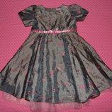 платье 12-18мес 80-86см сток юбка пышно нарядное юбка пышно нарядное