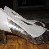 Винтажные туфли 36-37 кожа