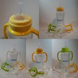 Ручки-Держатели для бутылочек со стандартным узким горлом Philips Avent, Baby Team, Canpol