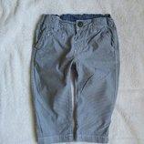 Крутые штанишки в елочку от H&M на 4-6 мес., 68 см большемерят