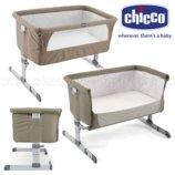 новые приставная кроватка Chicco Next2Me Киев метро Академгородок