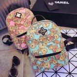 Мини рюкзак из холста 5 расцветок