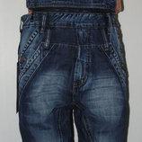 джинсы-комбинезон новинки распродажа -в наличии размеры 27-34