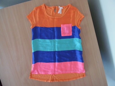 футболка 7 л майка Некст новая яркая неон кружево котон