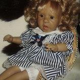 коллекционная характерная кукла Panre Испания оригинал клеймо винтаж 42 см