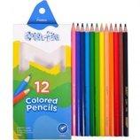 Карандаши цветные кольорові Marco Colorit олівці разные для рисования, черчения канцтовары канцтовар