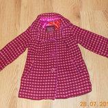 Акция Демисезонное пальто Baker для девочки 18-24 месяцев, 86-92 см