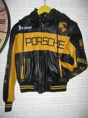 Куртка Porsche 128-134 натуральная кожа