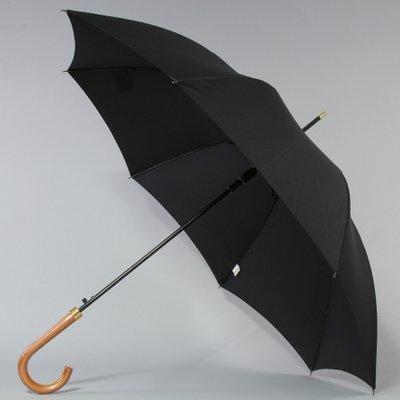 Фирменный зонт трость Zest полуавтомат, мод. 41640 с деревянной ручкой