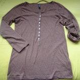 Фирменный реглан свитер кофточка
