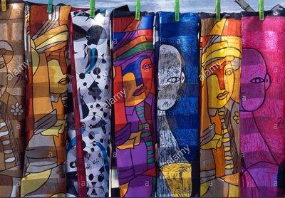 эксклюзив Красивый шелковый шарф платок палантин Пикассо лучший подарок