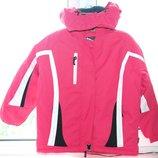 Лыжная термокуртка для девочки р. 122 , редактировать
