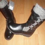 Зимние сапоги Lilin shoes размер 34 21,5см и 35 22.5см