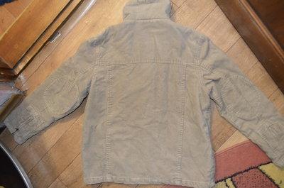 Вельветовая демисезонная куртка на парня, рост 152