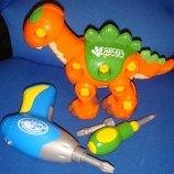 Игровой набор Динозавр с шуруповертом Hap-p-kid