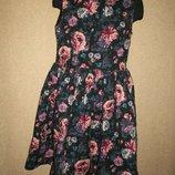 Красивое платье H&M 9-10л