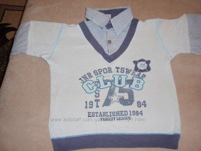 школьная рубашка-обманка