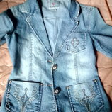 Пиджак котоновый