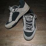 Кроссовки VANS кожаные 37 24 см замшевые