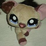шикарная мягкая игрушка мышонок mouse littlest pet shop Hasbro Сша оригинал