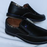 Туфли чёрные С6331-20 Тм Jong-Golf , 32, 33, 34, 35, 36, 37