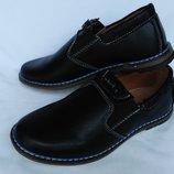 Туфли чёрные на мальчика С6303-20 Тм Jong-Golf , 32, 33, 34, 35, 36, 37