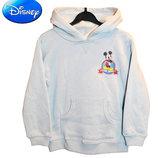 Толстовка начес с капюшоном на 5 лет серая Микки Маус, Disney Америка