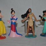 Разные фирменные фигурки Принцессы Дисней Disney и их питомцы