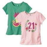 Набор котонових футболок фірми Lupilu із Германії оригінал 98-104, 110-116