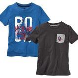 Набор котонових футболок фірми Lupilu із Германії оригінал 110-116