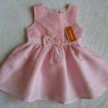 Новое воздушное платье от Bluezoo на 3-6 мес., 62-68 см большемерит