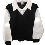 Школьная Рубашка Обманка Для Мальчика