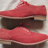 Asos 45 замшевые броги туфли мужские