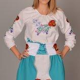 вышиванка-платья