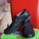 Туфли для мальчика, новые, черные, размеры 34,36, 37, 38, 39