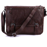Мужская сумка натуральная винтажная кожа Бесплатная доставка кожаный мессенджер 7022LB