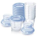 Контейнеры для хранения и заморозки грудного молока Philips Avent 180 мл поштучно