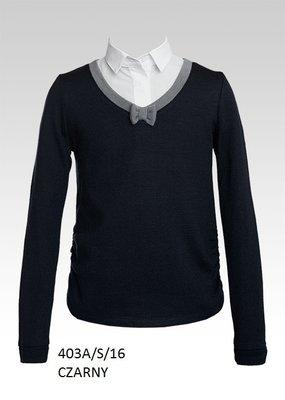 da3c06901b0 Школьная форма - черный школьный свитер джемпер Sly