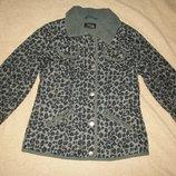 Отличная куртка Некст 7-8л