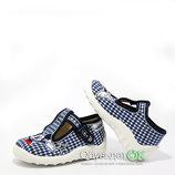 Текстильная обувь, тапочки Waldi, сменная обувь в садик, школу. Бесплатная доставка.