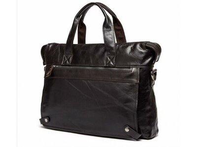 Сумка кожаная для ноутбука Бесплатная доставка кожаный портфель 7120C-2