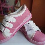 Кроссовки для девочки, розовые, новые, р. 30, 32, 35