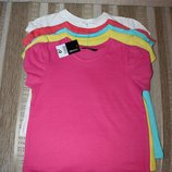 Новые футболки 4-5, 5-6 лет от George, Англия