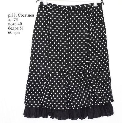 cd0d2c835ae Классная юбка. Как новая. В горох